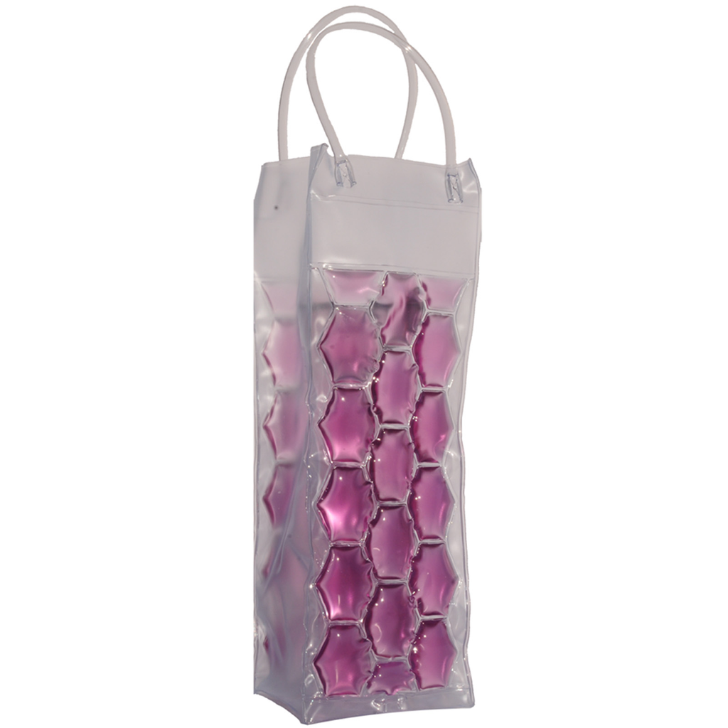 chill it 1 freezable violet drink bottle bag