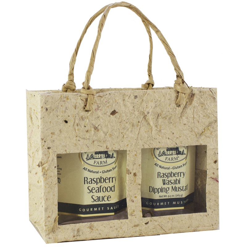 natural window double gourmet food bag
