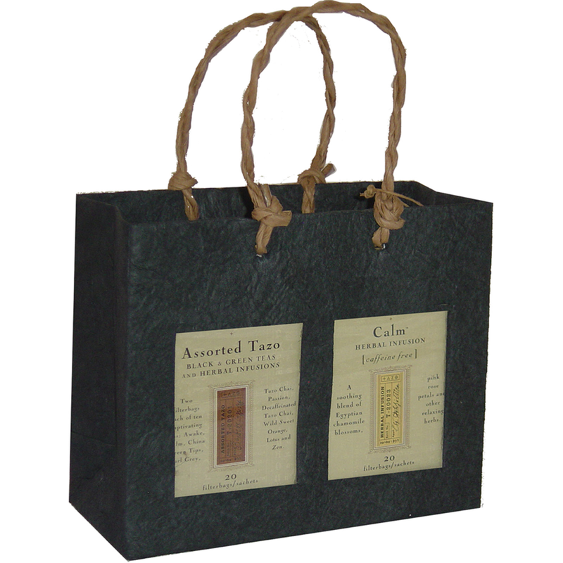 black window double gourmet food bag