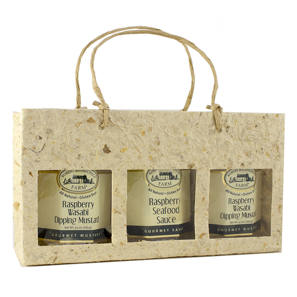 natural window tripple gourmet food bag