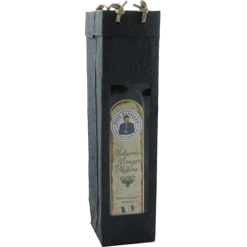 black  gourmet olive oil bag