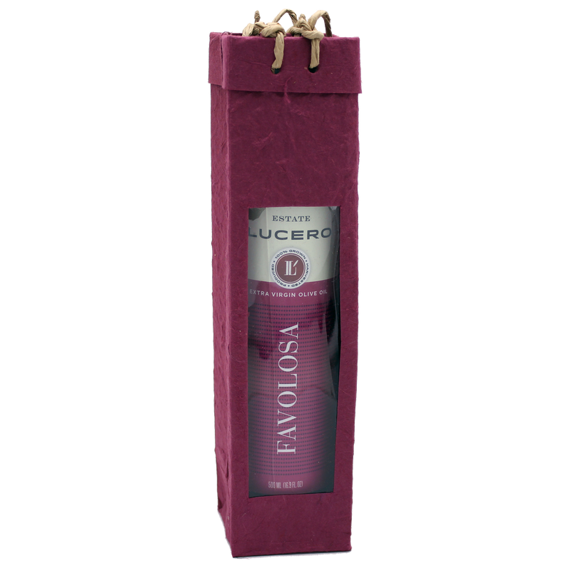 burgundy  gourmet olive oil bag
