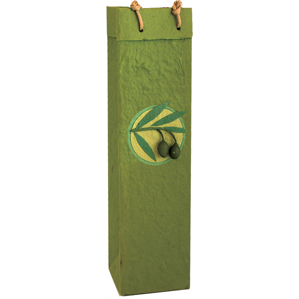 castilla green olive branch gourmet olive oil bag
