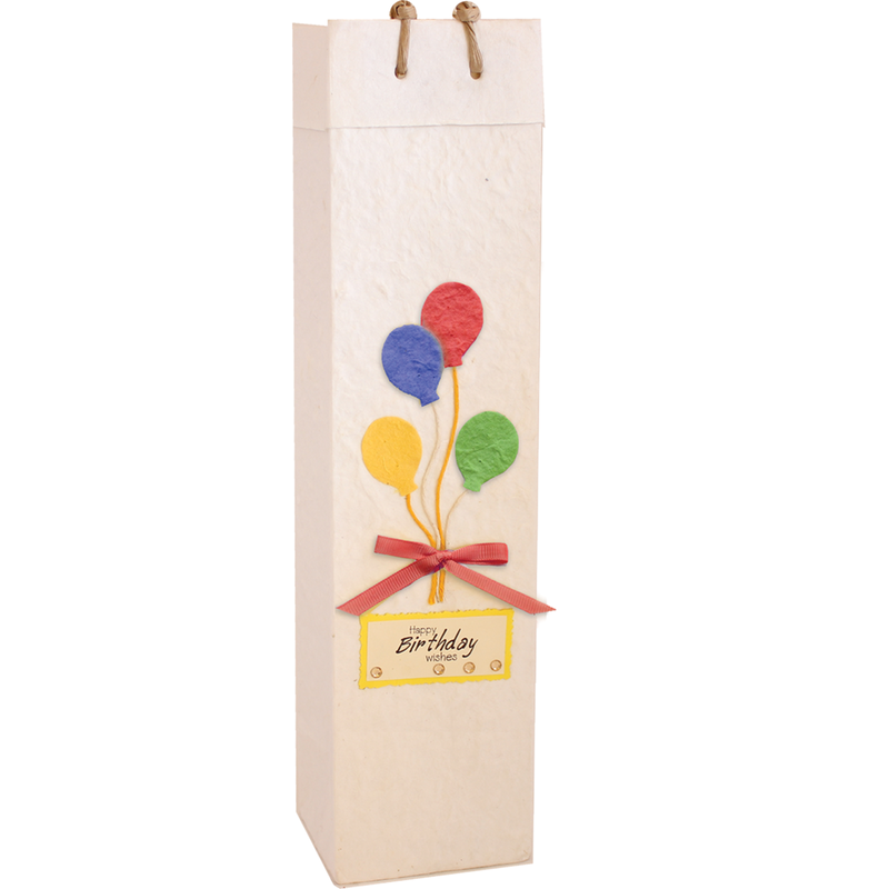 eco friendly birthday floating bottle olive oil bag