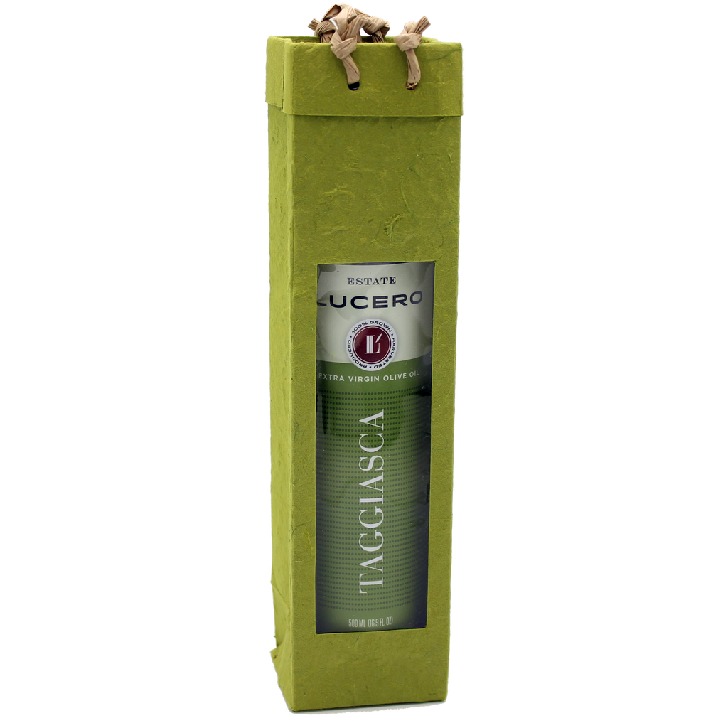 green  gourmet olive oil bag