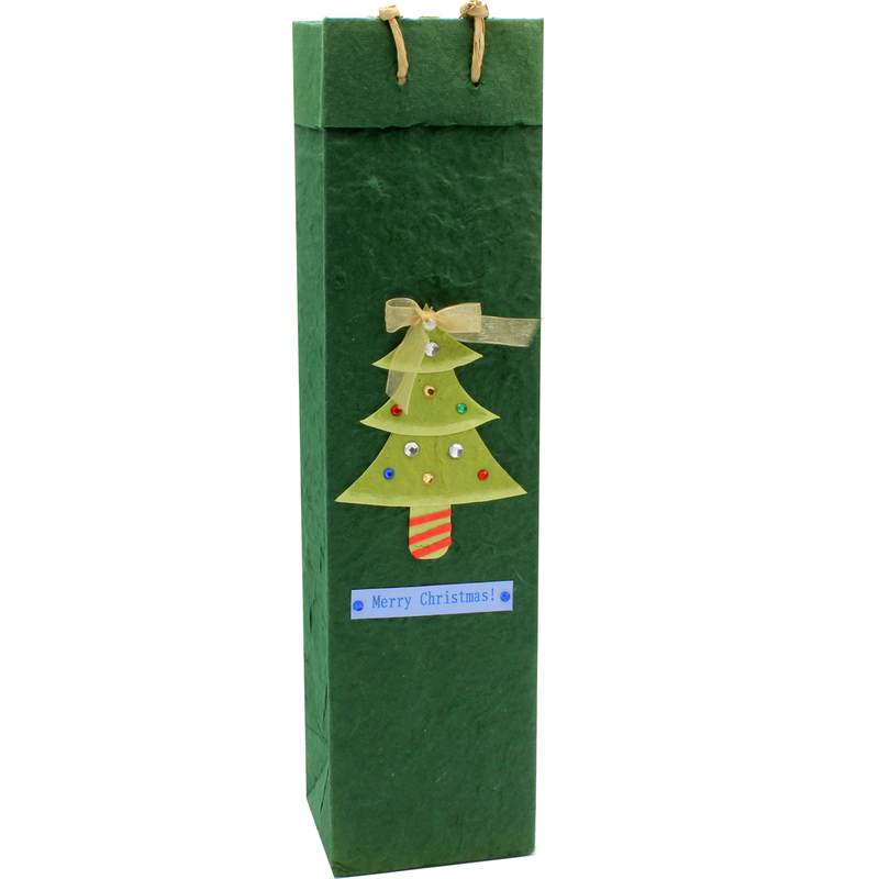 holiday eco friendly tinsel gourmet olive oil bag