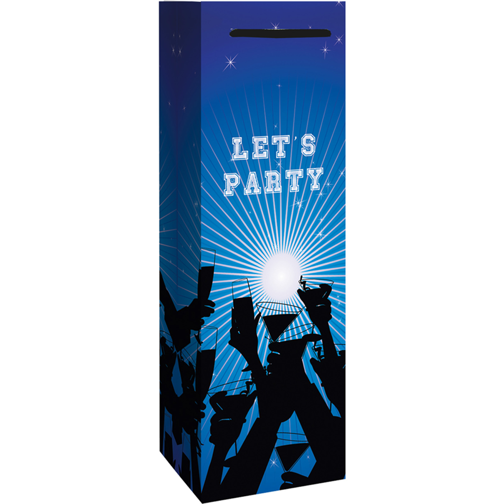 lets party drinks  cocktails wine bottle bag