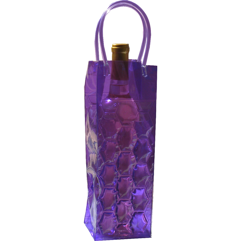 chill it 1 freezable pop 1 grape drink bottle bag