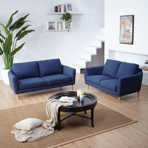 KUKA #2537 Fabric Sofa : Comfortable And Perfect For Urban Settings