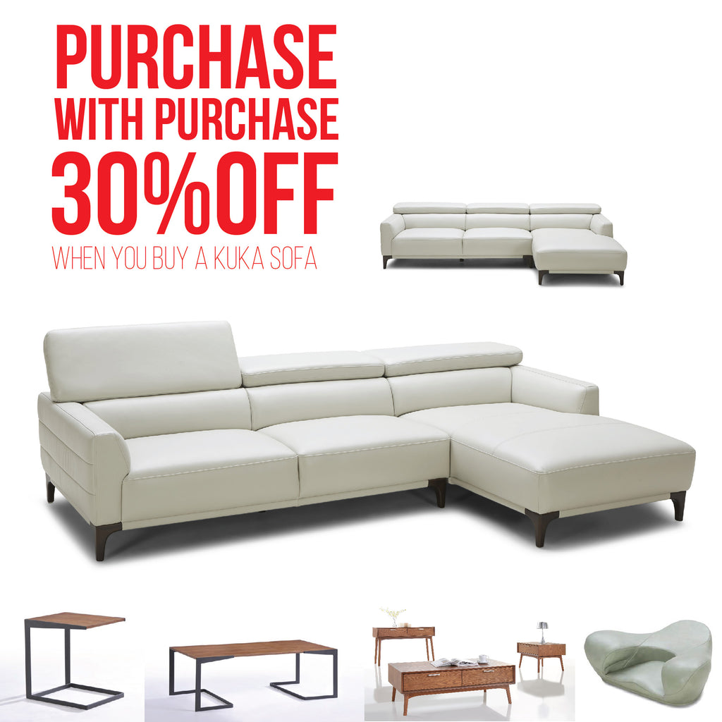 BUY ANY KUKA® LEATHER SOFA U0026 GET 30% OFF SELECTED PURCHASE WITH