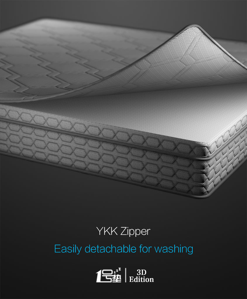 KUKA M0188 Mattress - Removable Layer with YKK Zipper
