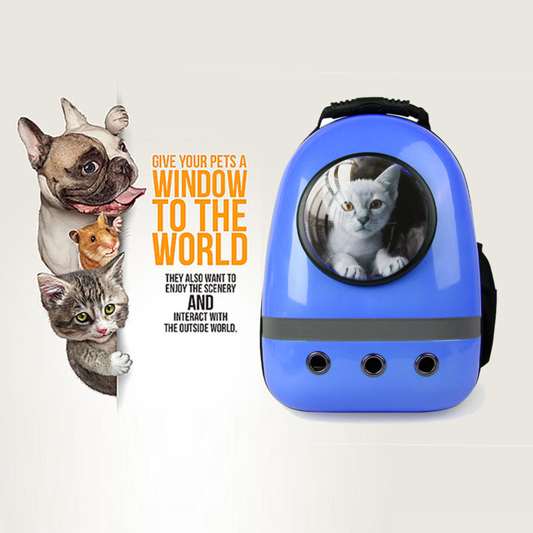 Astronauts Space Pet Shoulders Backpack