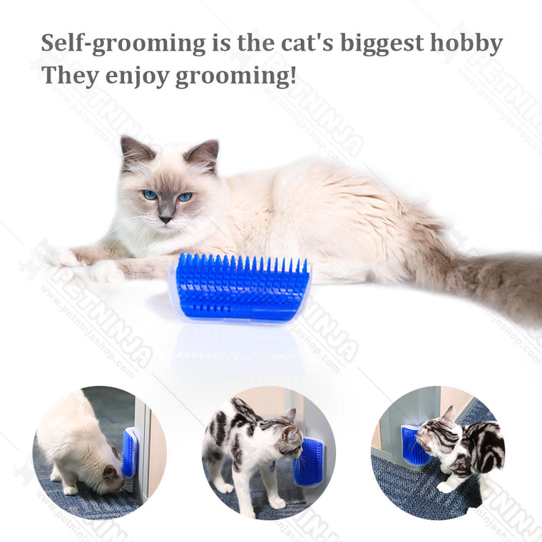 Cat Self Groomer with Catnip