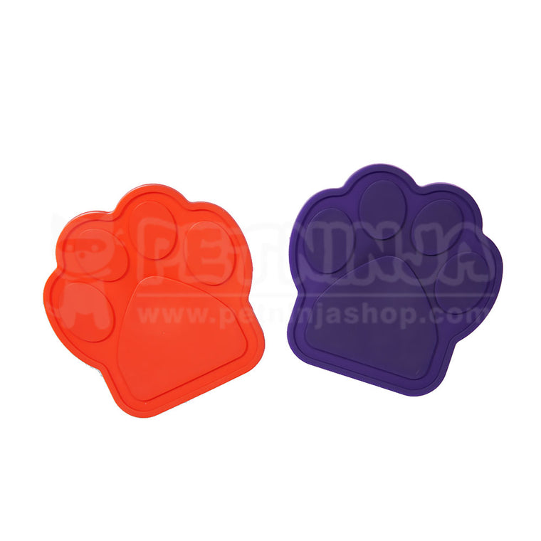 Paw-Shaped Dog Bathing Distraction Lick Lick Pad