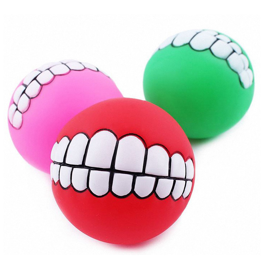 Spherical Super Thick Sound Teeth Bite Resistant Ball