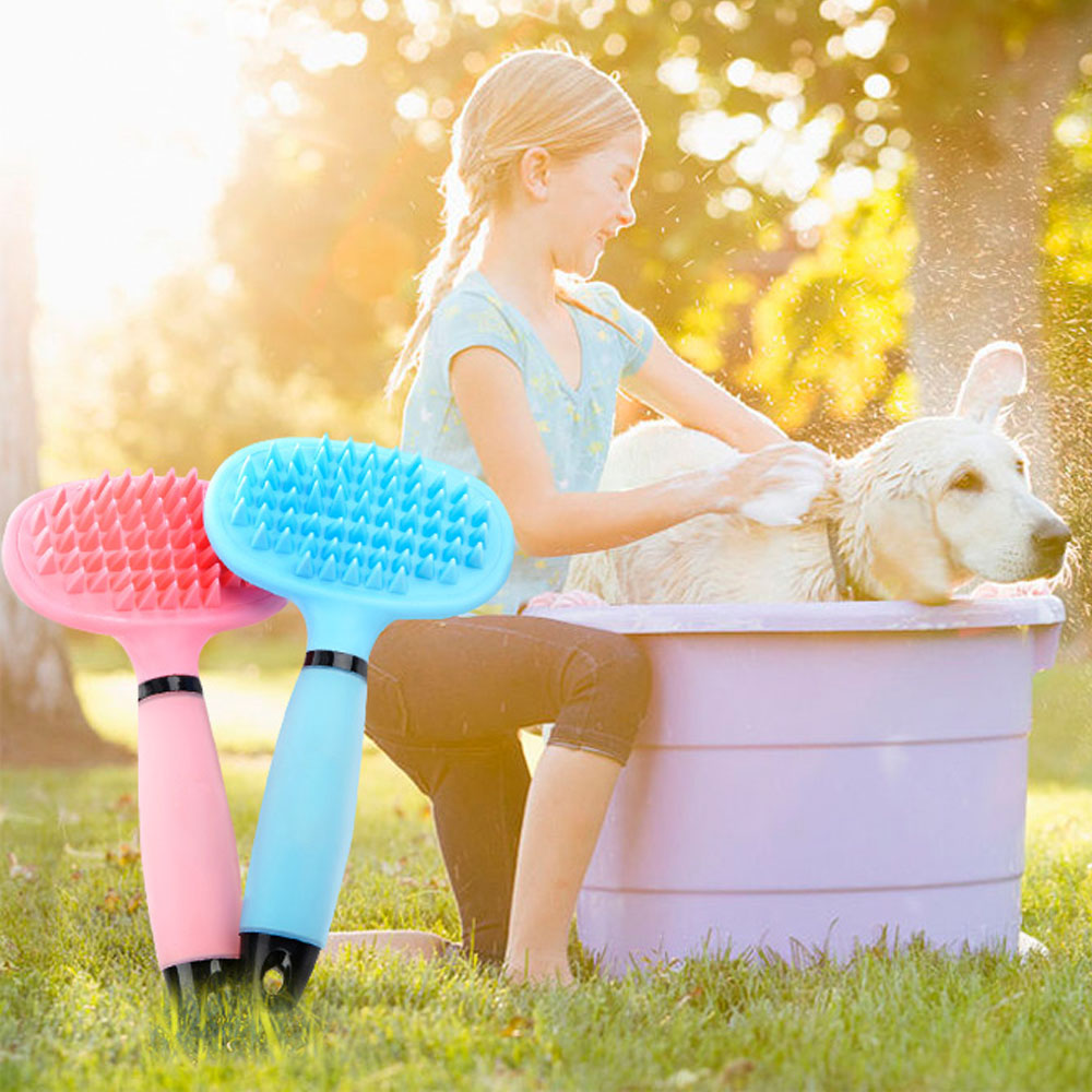 Gentle Bathing Brush Comb For Pet Grooming Massage