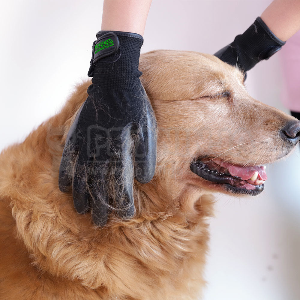 Patent Pet Shedding Grooming Glove (One Pair)