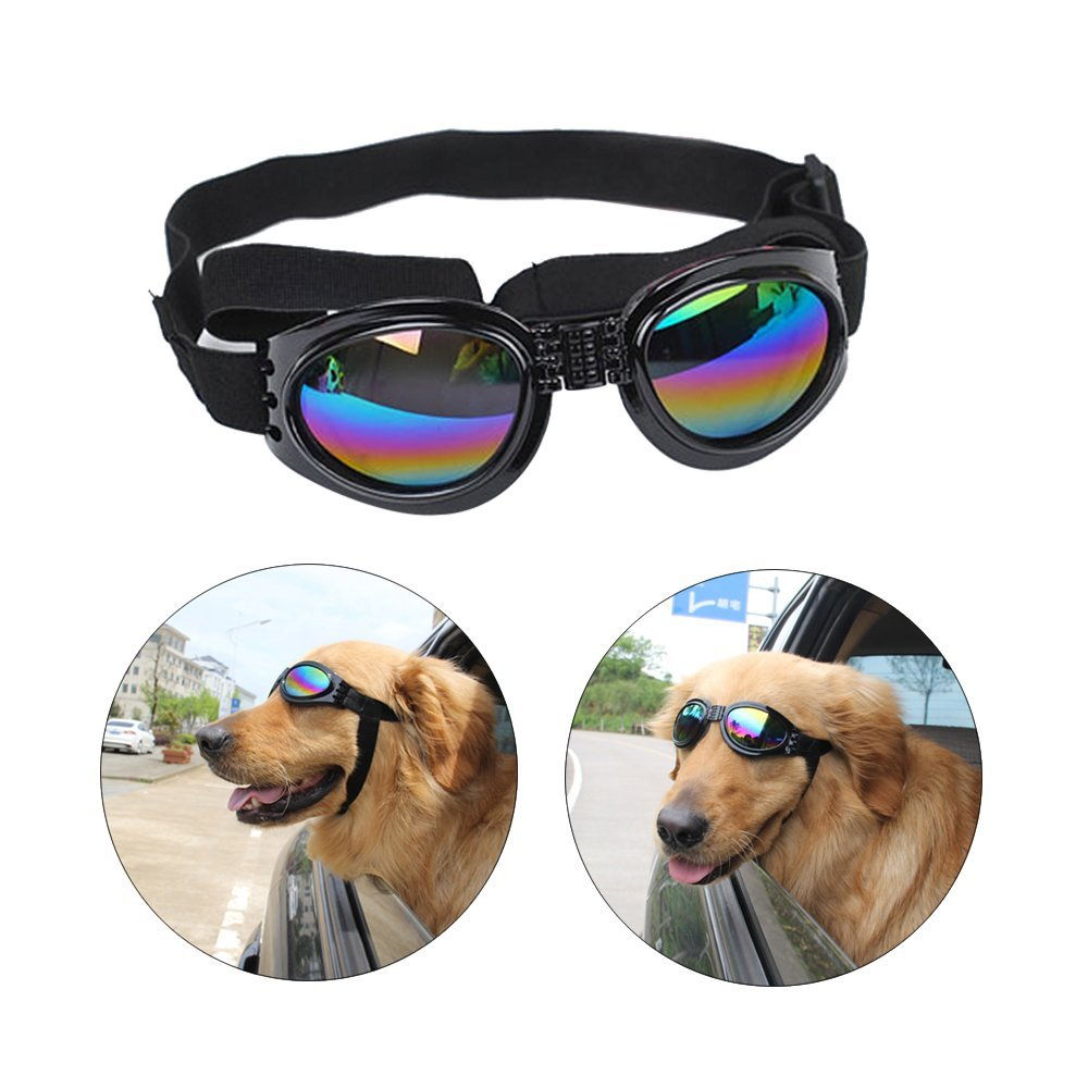 9073ac6562ec Flying Helmet And Goggles For Dogs - Scales4U