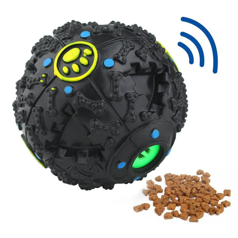 Funny Sound Tricky Treat Ball (Food Dispensing Toy)