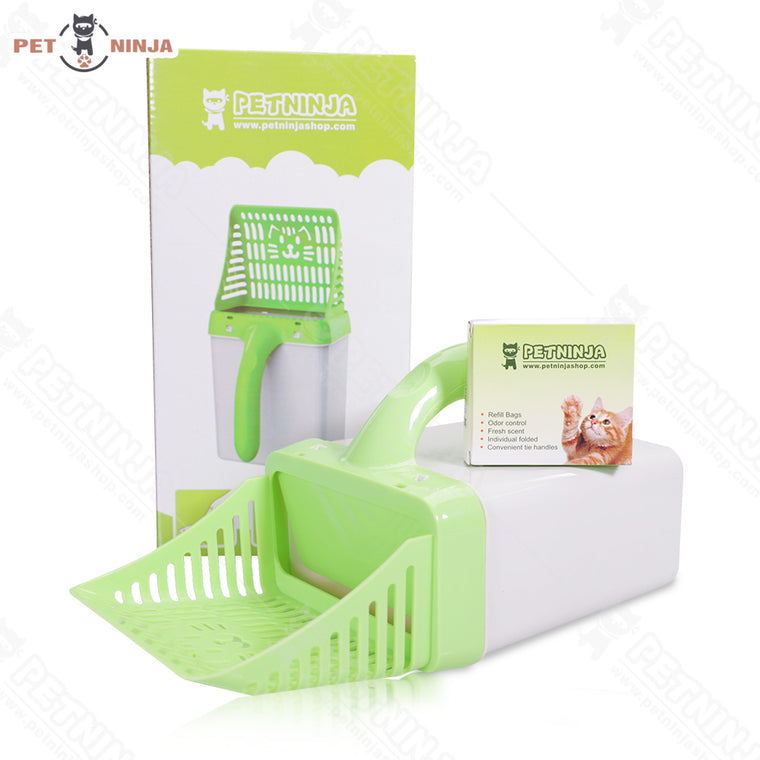 Scooping & Bagging Combination Cat Litter Scooper
