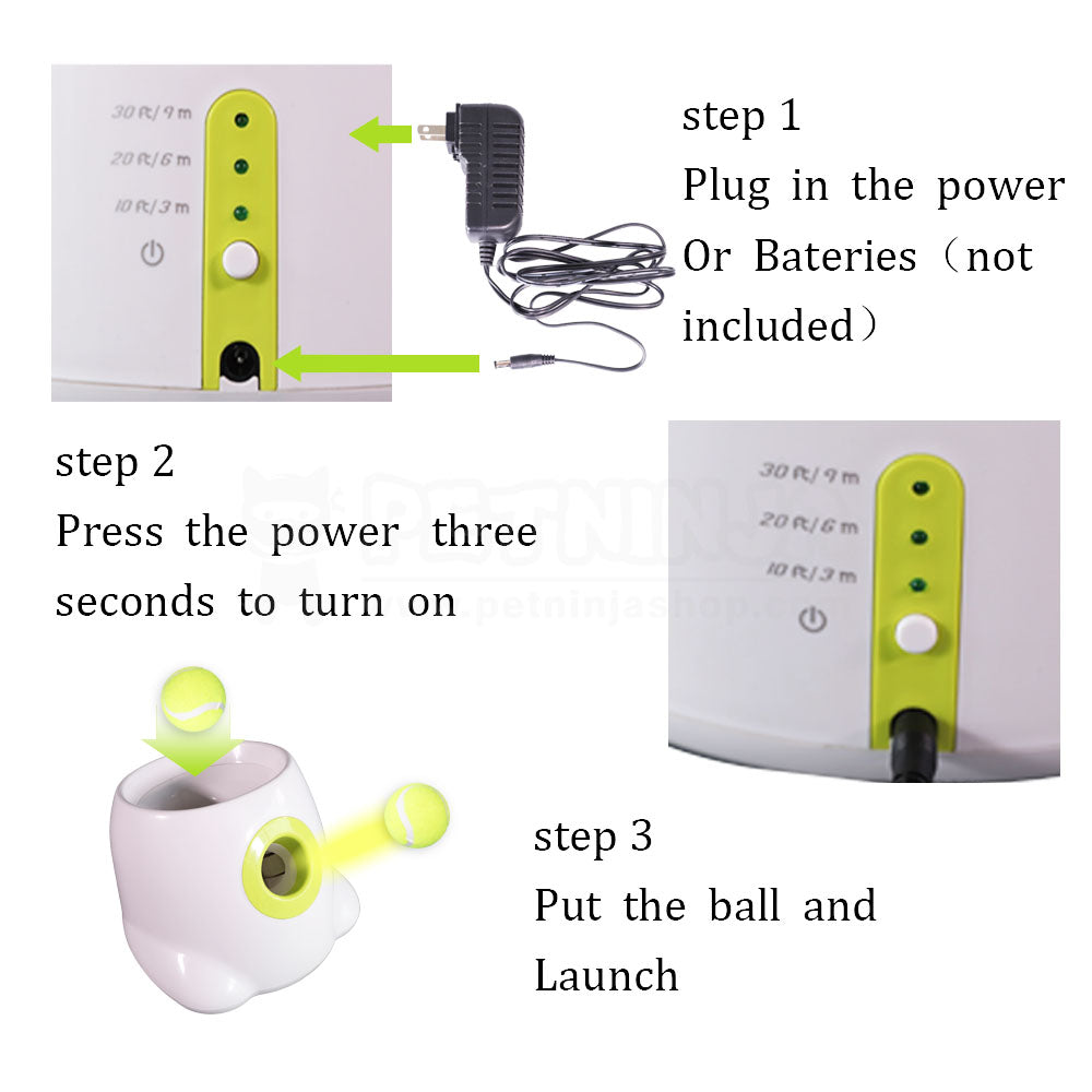 Interactive Ball Launchers for Dogs (Mini Style)