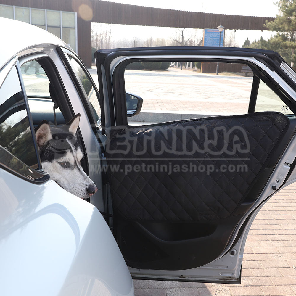 Pet Ninja Pet Seat Cover Plus 2 Door Guards & Pet Ninja Pet Seat Cover Plus 2 Door Guards \u2013 Pet Ninja Shop