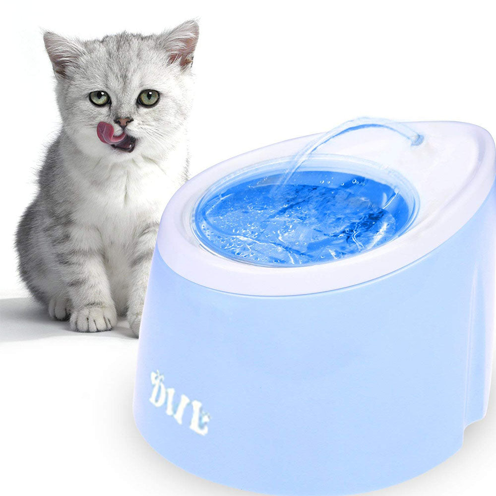 Pet Automatic Water Fountain with LED Light
