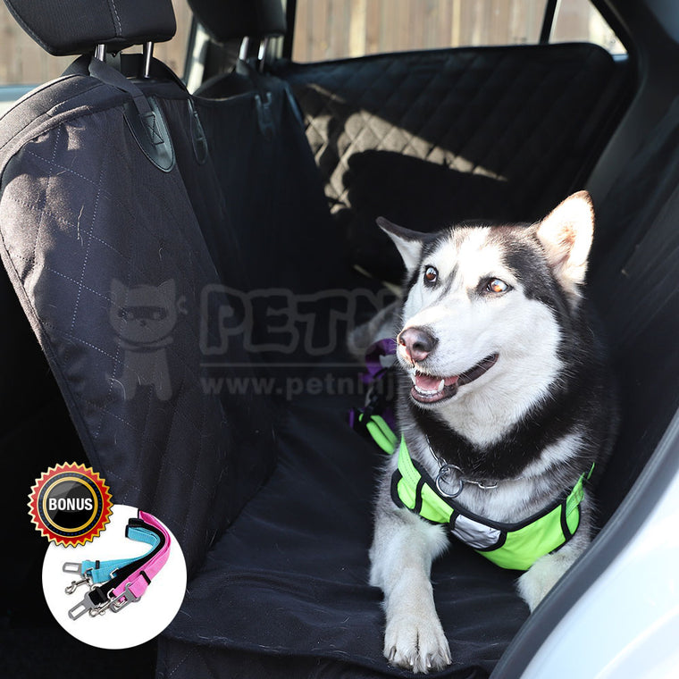 Pet Ninja Pet Seat Cover Plus 2 Door Guards