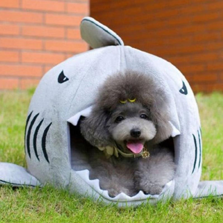 High-Quality Shark-Shaped Bed for Dog/Cat