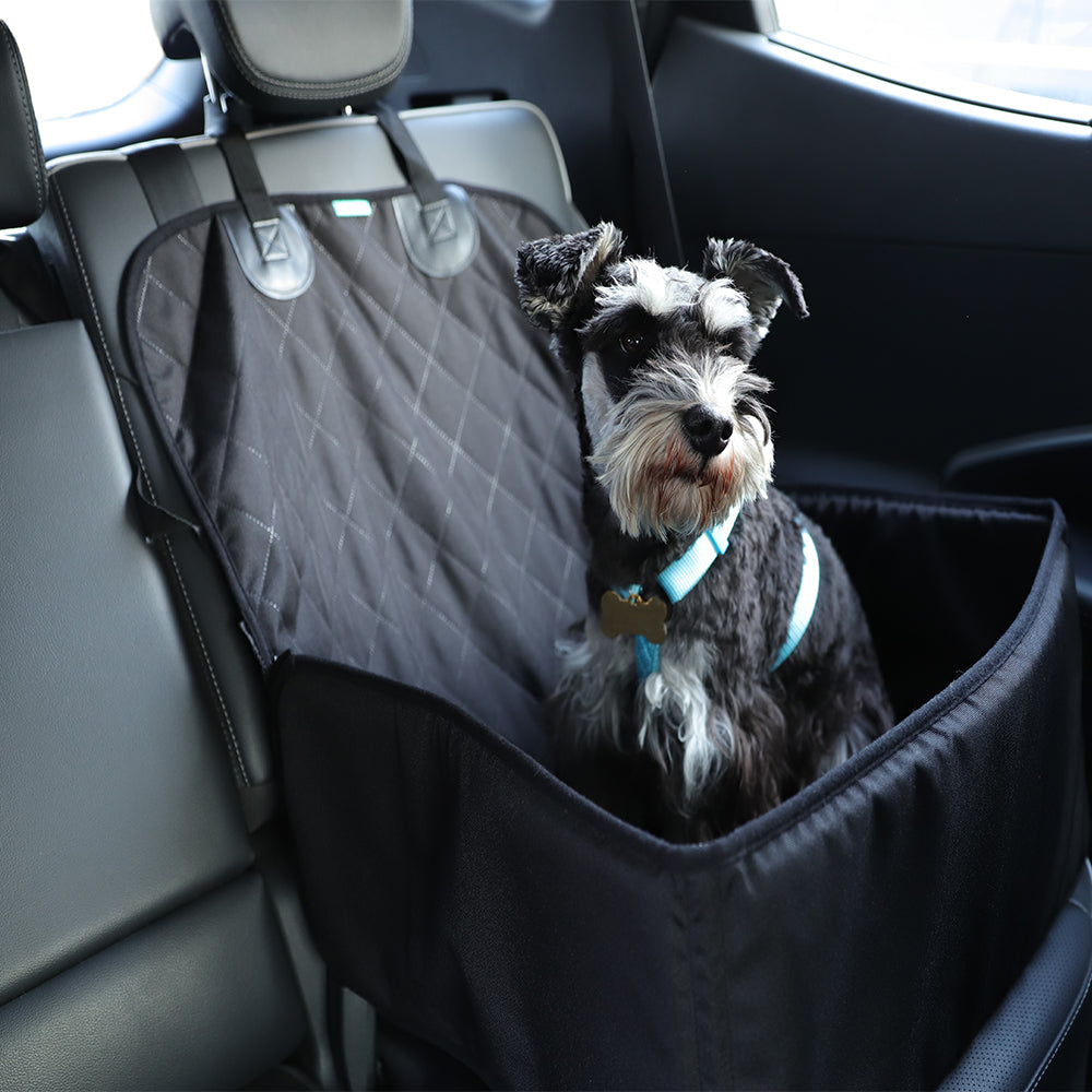 3 in 1 Deluxe Pet Single-Seat Car Seat Cover (Bonus Seat Belt)