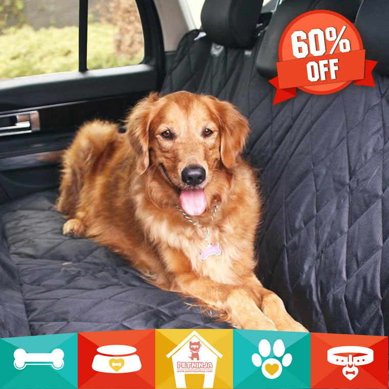 Pet Ninja Luxury Waterproof Pet Seat Cover for Cars