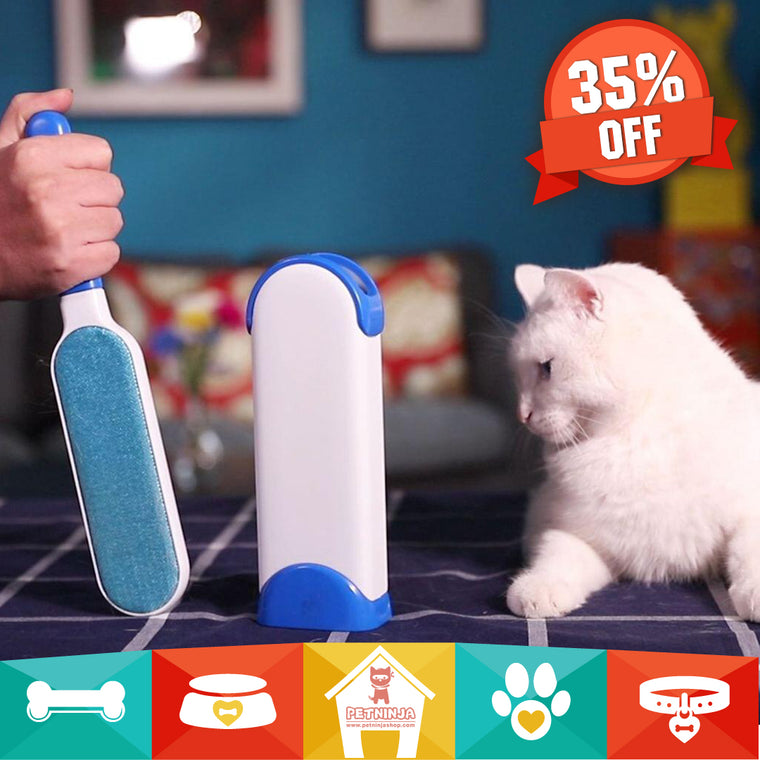 Pet Fur & Lint Remover - The Last Lint Roller You'll Ever Need