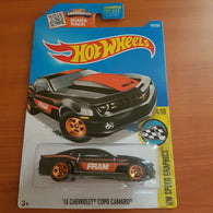 2017 Hot Wheels – '13 Chevrolet Copo Camaro  + 6 Protector Packs - Protector Pack