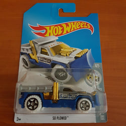 2017 Hot Wheels Treasure Hunt – 'So Plowed + 6 Protector Packs - Protector Pack