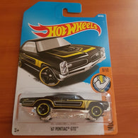 2017 Hot Wheels – '67 Pontiac GTO + 6 Protector Packs - Protector Pack