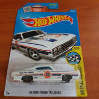 2017 Hot Wheels – '69 Ford Torino Talladega + 6 Protector Packs - Protector Pack