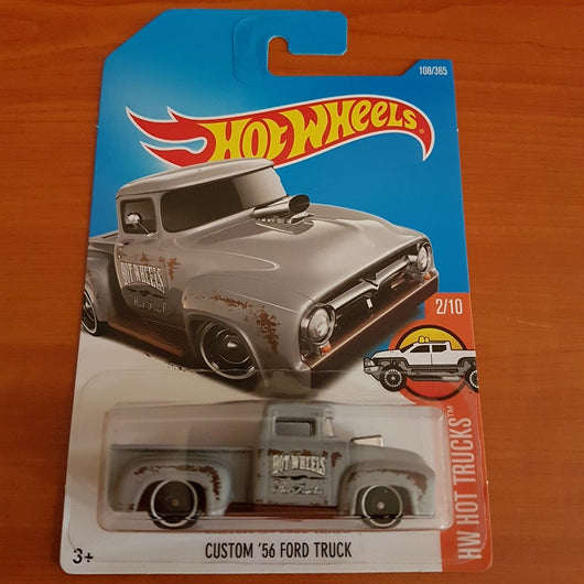 2017 Hot Wheels – Custom '56 Ford Truck + 6 Protector Packs - Protector Pack