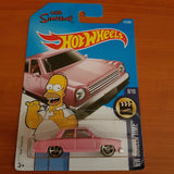 2017 Hot Wheels – The Simpsons 'Homer' + 6 Protector Packs - Protector Pack