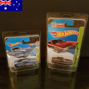 Hot Wheels Protector Pack - Mixed Short/Long Card Pack (AU Customers) - Protector Pack
