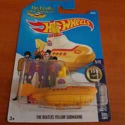 2017 Hot Wheels – The Beatles Yellow Submarine + 6 Protector Packs - Protector Pack