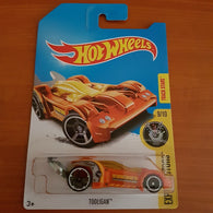 2017 Hot Wheels Treasure Hunt – Tooligan + 6 Protector Packs - Protector Pack