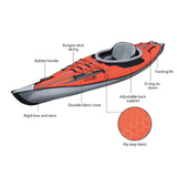Advanced Elements Advanced Frame Inflatable Kayak - River To Ocean Adventures