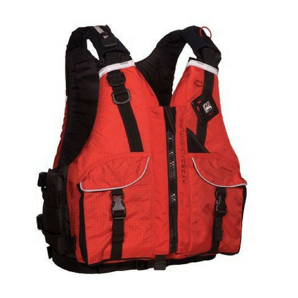 Palm Mens Hydro Adventure PFD - Red - River To Ocean Adventures