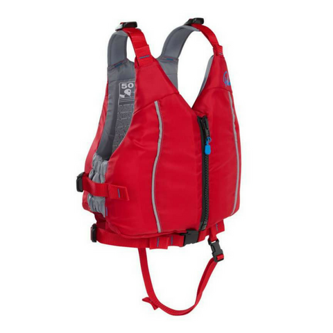 Palm Quest Kids PFD - Red - River To Ocean Adventures