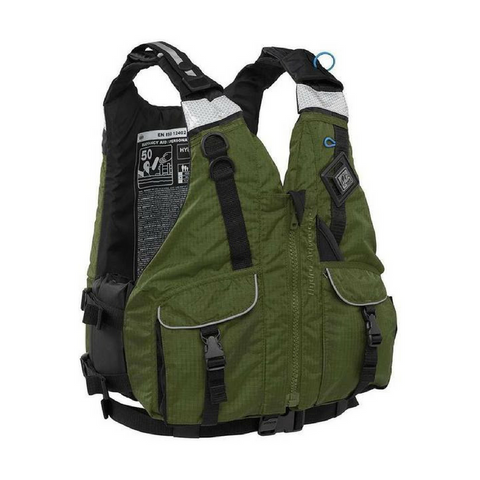 Palm Mens Hydro Adventure PFD - Olive - River To Ocean Adventures