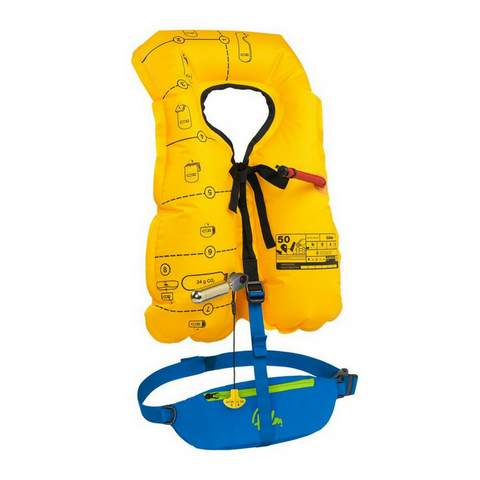 Palm Glide PFD - Inflatable PFD - River To Ocean Adventures
