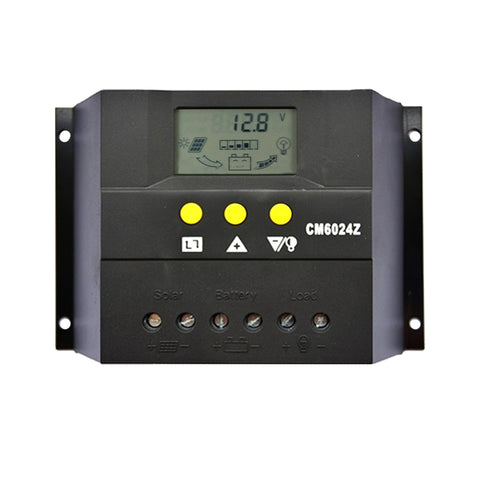 60A 12V-24V LCD Display PWM Solar Panel Regulator Charge Controller Battery - River To Ocean Adventures