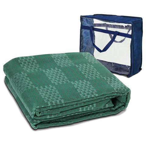 Weisshorn Heavy Duty Annex Matting 5 x 2.5M - Green