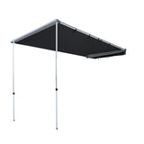 Car Shade Awning 2.5 x 3M - Charcoal Black - River To Ocean Adventures