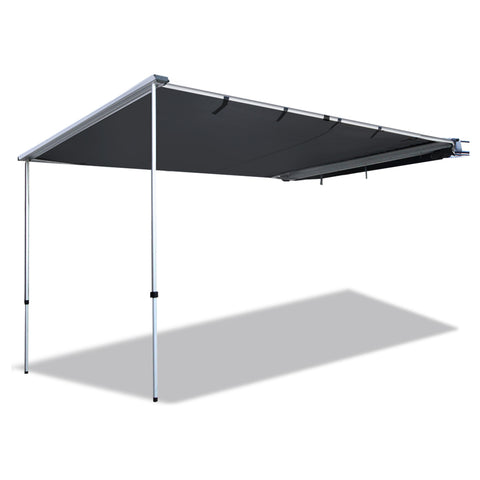 Car Shade Awning 3 x 3M - Charcoal - River To Ocean Adventures